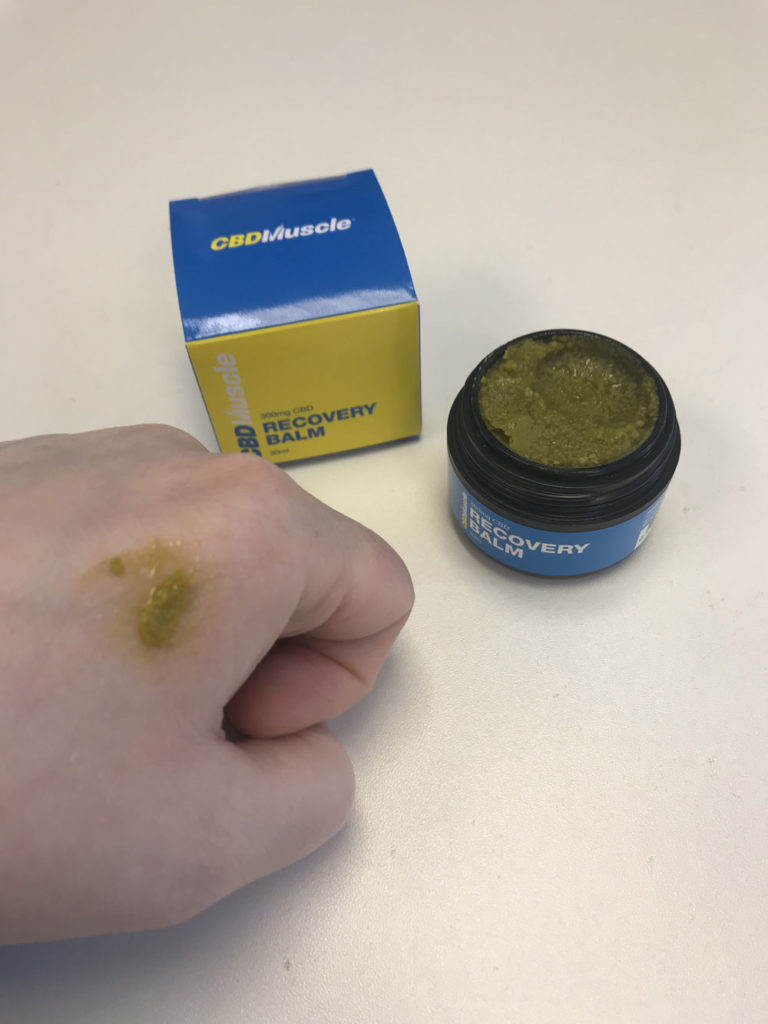 Magic in a Jar CBD Muscle Recovery Balm